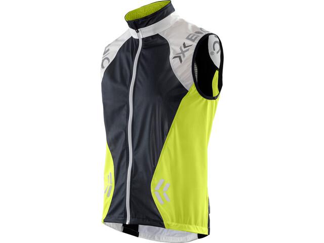X-Bionic Spherewind Running Vest Herren green lime/white/black